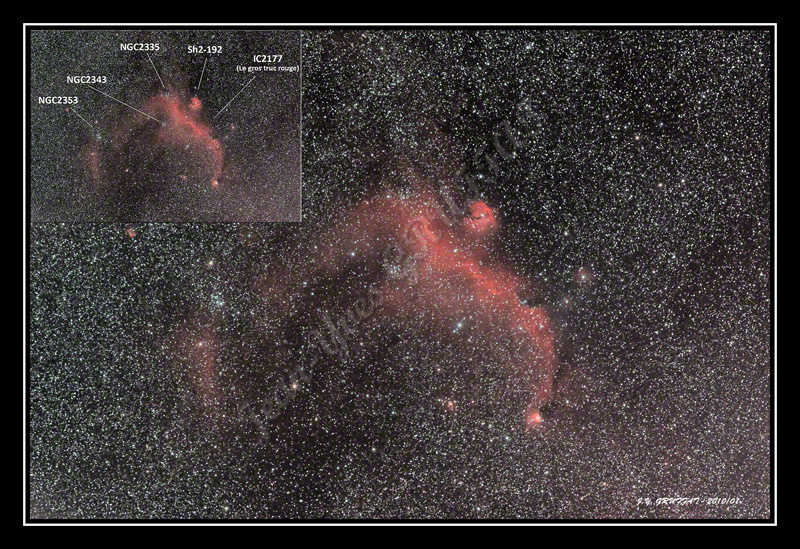 IC2177, NGC2353 et Compagnie