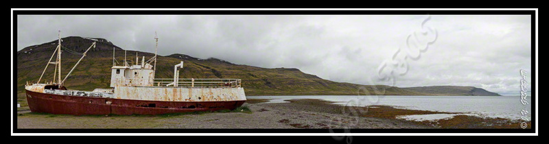 First steel boat of Iceland